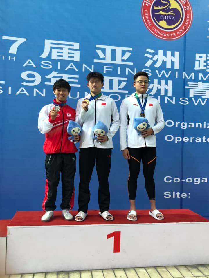根岸達也選手銀メダル獲得